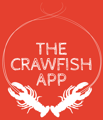 the crawfish app find the cheapest closest and highest rated rh thecrawfishapp com crawfish logo designs crawfish boil logo